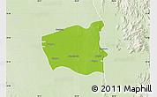 Physical Map of Wetlet, lighten
