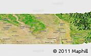 Satellite Panoramic Map of Wetlet