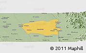 Savanna Style Panoramic Map of Wetlet