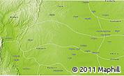 Physical 3D Map of Ye-U