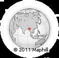 Outline Map of Ye-U