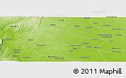 Physical Panoramic Map of Ye-U