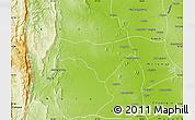 Physical Map of Yinmabin