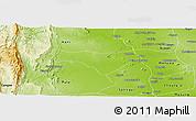 Physical Panoramic Map of Yinmabin