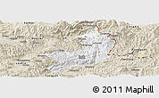 Classic Style Panoramic Map of Ho-Pang