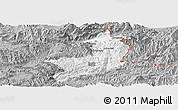 Gray Panoramic Map of Ho-Pang