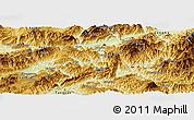 Physical Panoramic Map of Ho-Pang