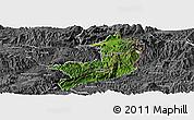 Satellite Panoramic Map of Ho-Pang, desaturated
