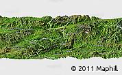 Satellite Panoramic Map of Ho-Pang