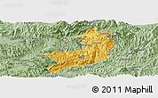 Savanna Style Panoramic Map of Ho-Pang
