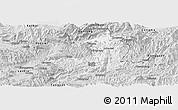 Silver Style Panoramic Map of Ho-Pang