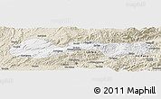 Classic Style Panoramic Map of Hsenwi