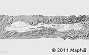 Gray Panoramic Map of Hsenwi