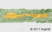 Savanna Style Panoramic Map of Hsenwi