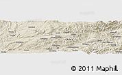 Shaded Relief Panoramic Map of Hsenwi