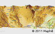 Physical Panoramic Map of Hsi Hseng