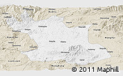 Classic Style Panoramic Map of Hsipaw