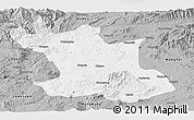 Gray Panoramic Map of Hsipaw