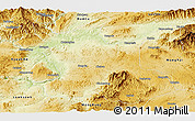 Physical Panoramic Map of Hsipaw
