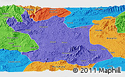 Political Panoramic Map of Hsipaw