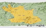 Savanna Style Panoramic Map of Hsipaw