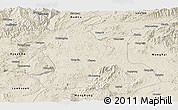 Shaded Relief Panoramic Map of Hsipaw
