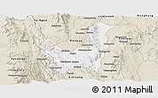 Classic Style Panoramic Map of Kalaw