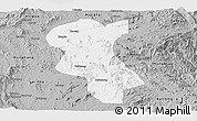 Gray Panoramic Map of Ke-Hsi
