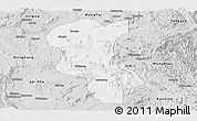 Silver Style Panoramic Map of Ke-Hsi
