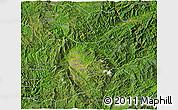 Satellite 3D Map of Keng Tung