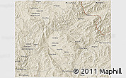 Shaded Relief 3D Map of Keng Tung