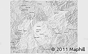 Silver Style 3D Map of Keng Tung
