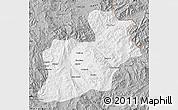 Gray Map of Keng Tung