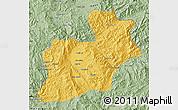 Savanna Style Map of Keng Tung