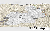 Classic Style Panoramic Map of Keng Tung