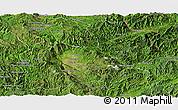Satellite Panoramic Map of Keng Tung