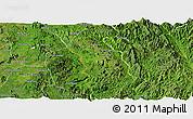 Satellite Panoramic Map of Kunhing