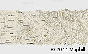 Shaded Relief Panoramic Map of Kunhing