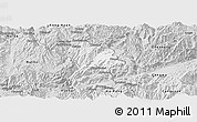 Silver Style Panoramic Map of Kunlong