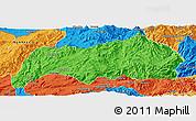 Political Panoramic Map of Kutkai