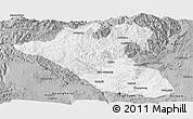Gray Panoramic Map of Kyaukme