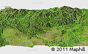 Satellite Panoramic Map of Kyaukme