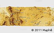 Physical Panoramic Map of Lai-Hka