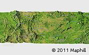 Satellite Panoramic Map of Lai-Hka