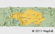 Savanna Style Panoramic Map of Lai-Hka
