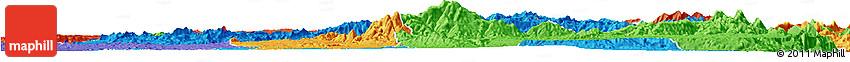 Political Horizon Map of Lashio
