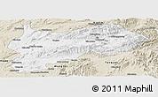 Classic Style Panoramic Map of Lashio