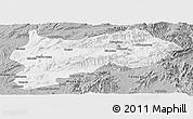 Gray Panoramic Map of Lashio