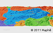 Political Panoramic Map of Lashio
