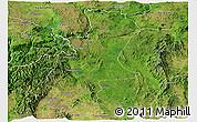 Satellite Panoramic Map of Lawksawk